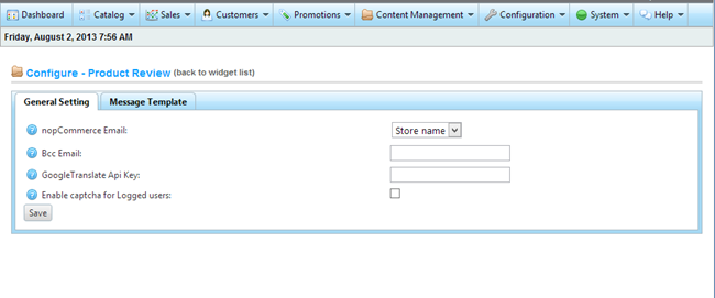 Picture of nopCommerce Advance ProductReview plugin