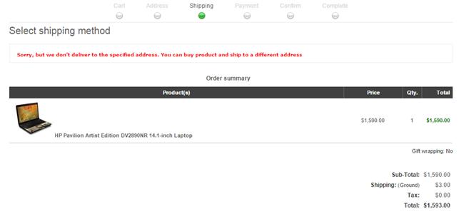 Изображение nopCommerce Postcode Shipping Plugin