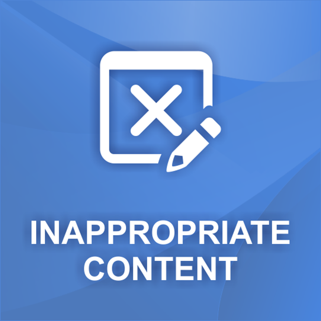 Изображение nopCommerce Inappropriate content plugin