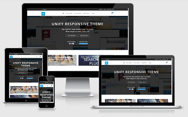 Изображение nopCommerce Unify Theme