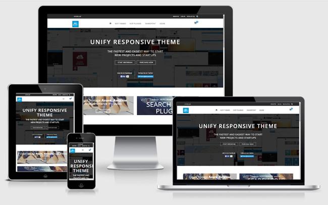Изображение nopCommerce Unify Theme