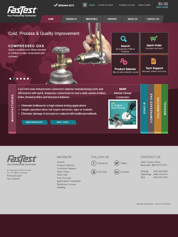 FastTest Website