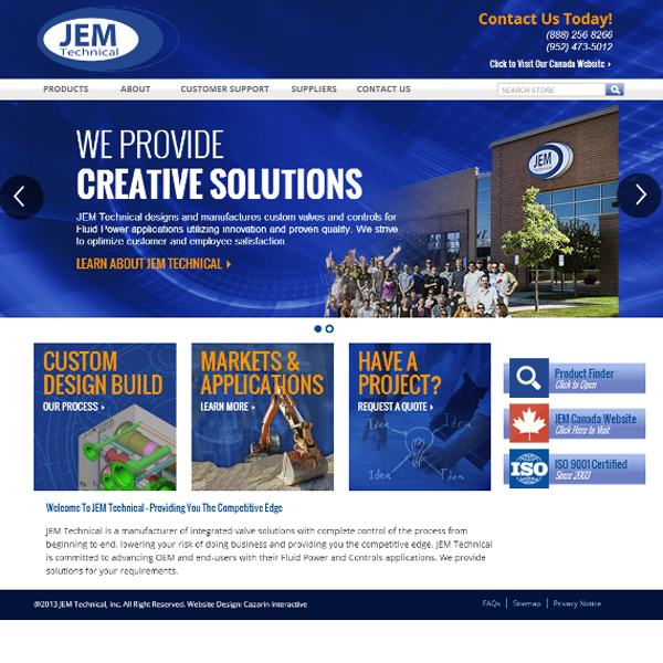 JemTechnical Website