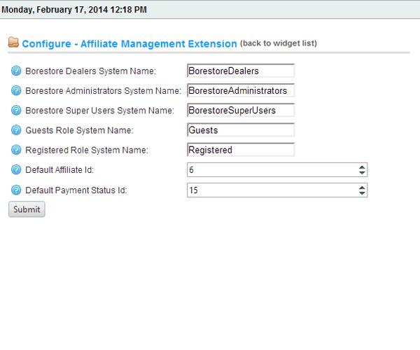 TerritoryCountry Affiliate Management Plugin