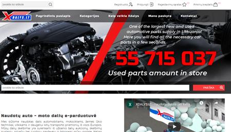 nopCommerce new xDalys website